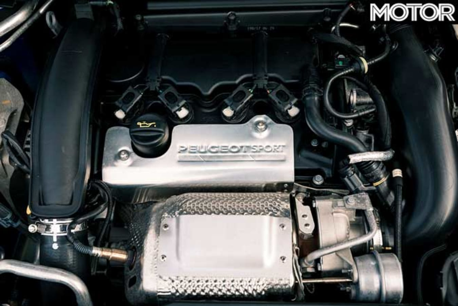 Peugeot 308 G Ti Long Term Review Engine Jpg