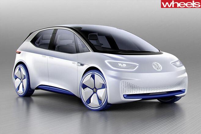Volkswagen -I.D.-concept -front -side