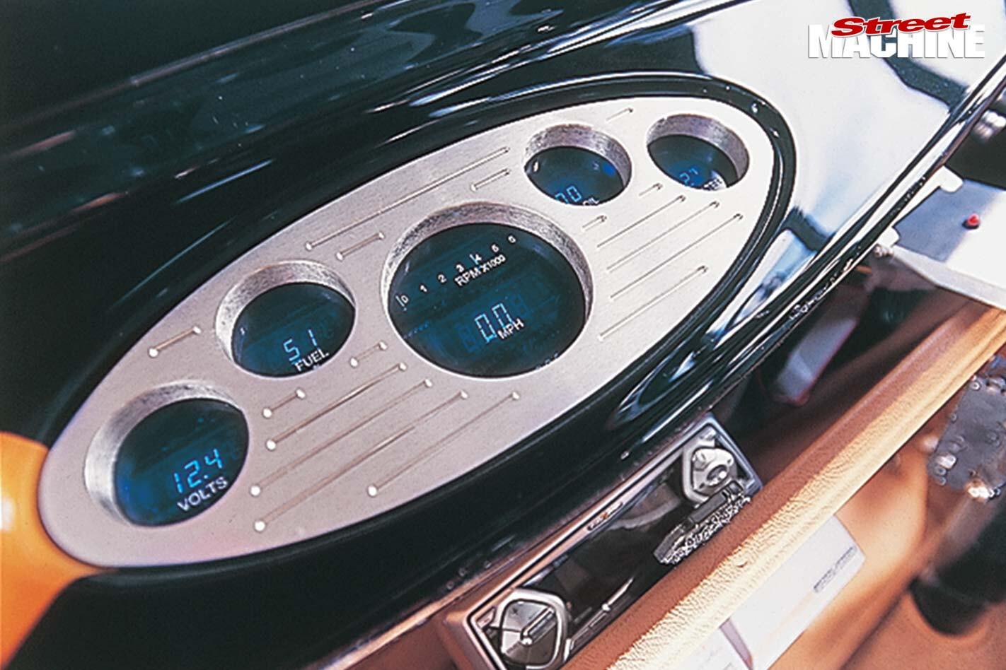 Ford Model A Tudor gauges