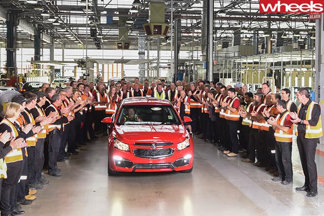 Holden -Cruze -SRi -Z-series -Elizabeth -plant -South -Australia