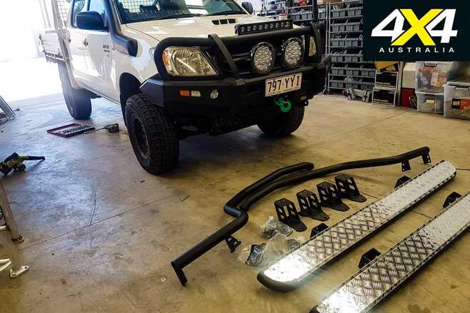 Toyota Hilux Budget Tourer Build Update 3 Jpg