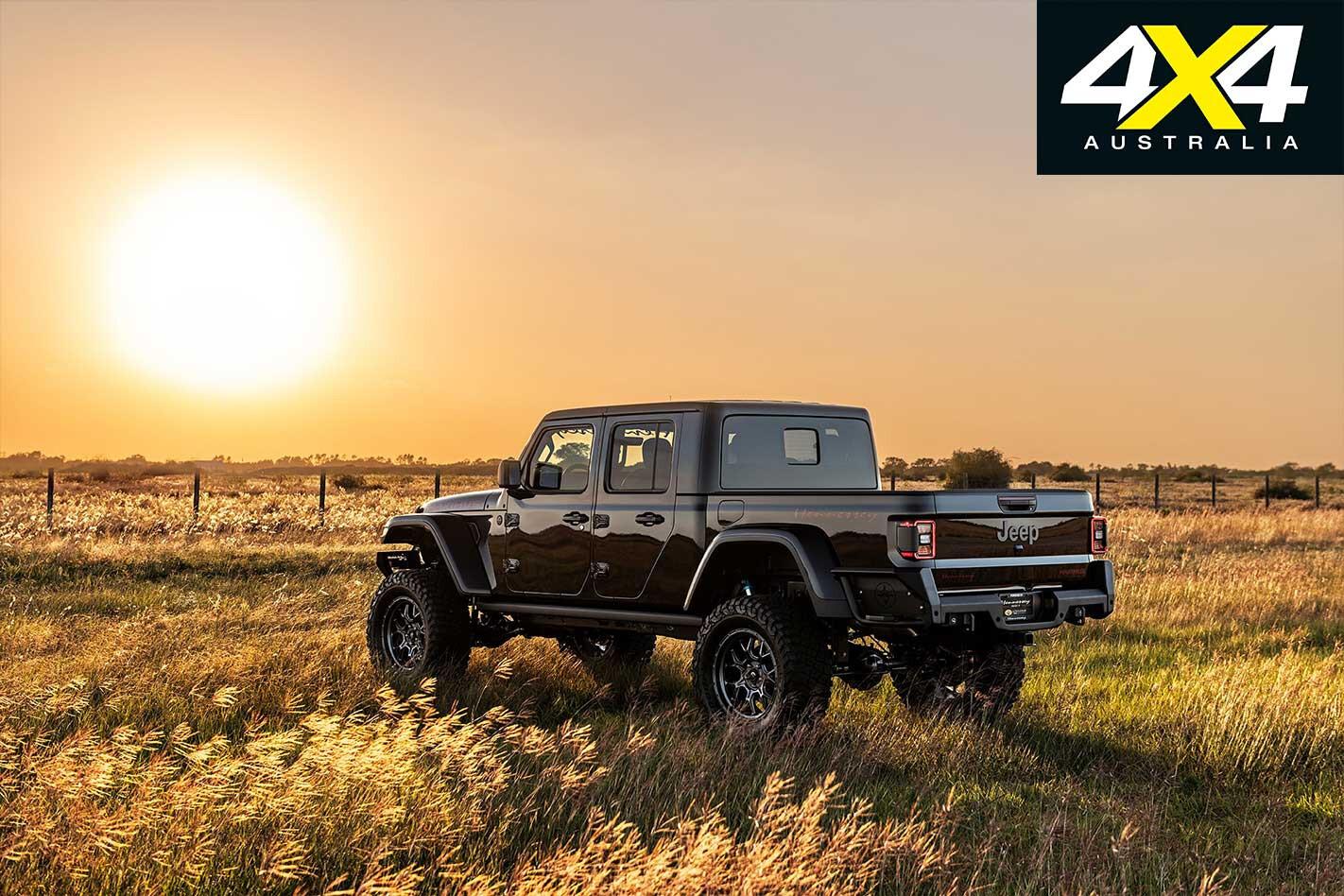 Hennessey Jeep Gladiator Maximus rear