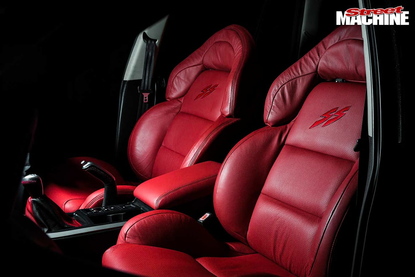 Holden VY SS wagon seats