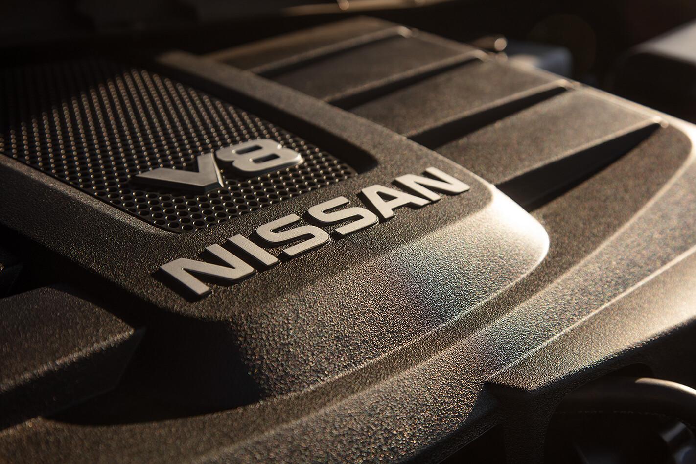 Nissan Titan 5.6-litre V8 Petrol Engine