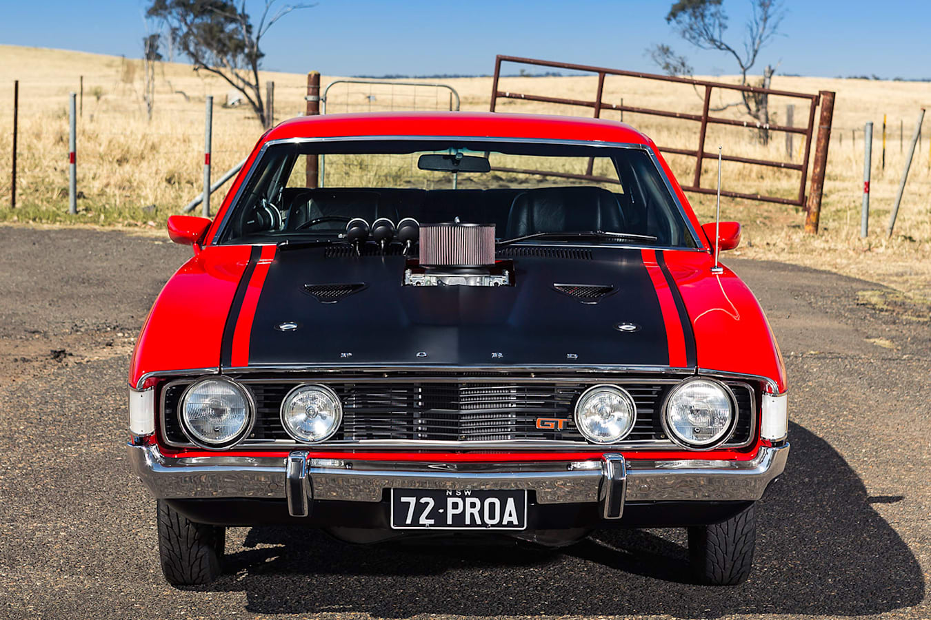 Ford Falcon XA coupe front