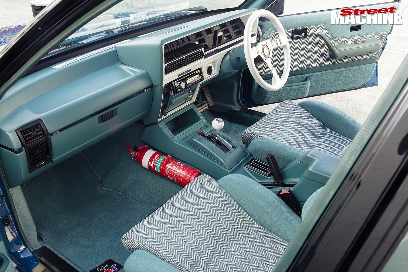 Holden VK Calais SS Group A replica interior