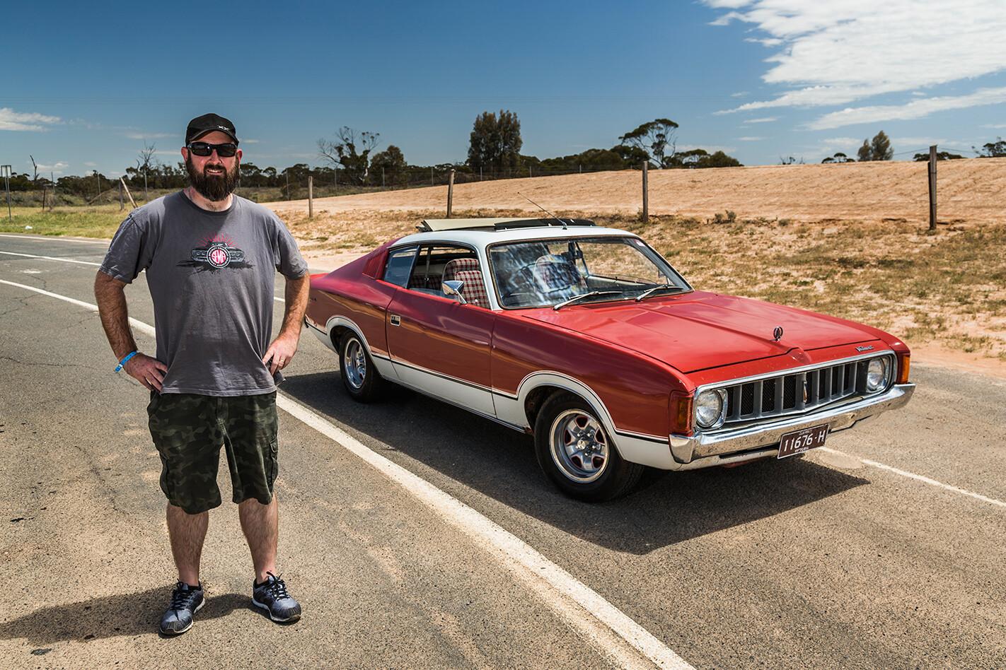 Chrysler VJ Valiant Charger Brad Keem
