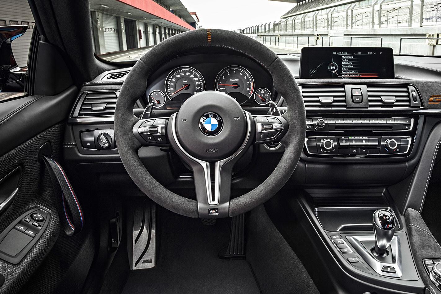Ultimate BMW M4s interior