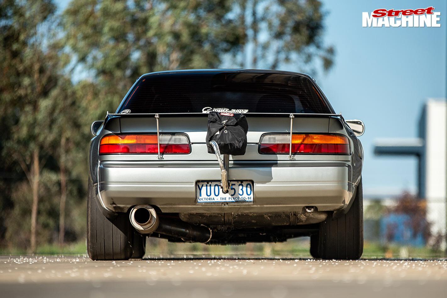 Nissan Silvia rear
