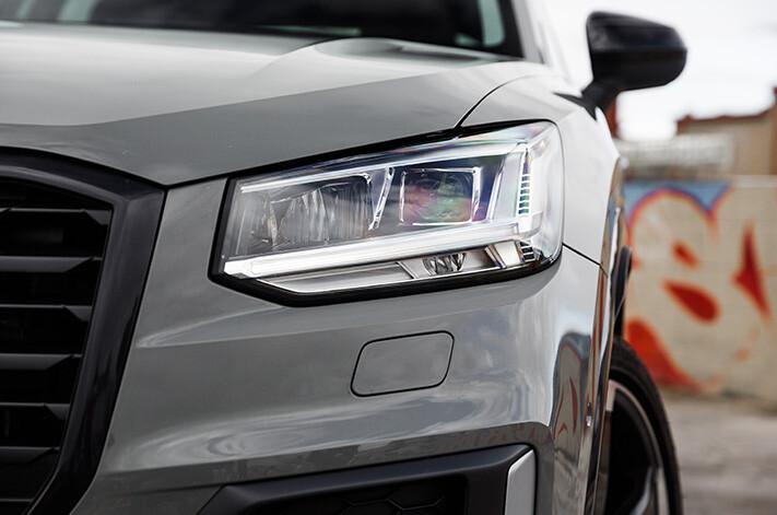 Audi Q 2 Headlight Jpg