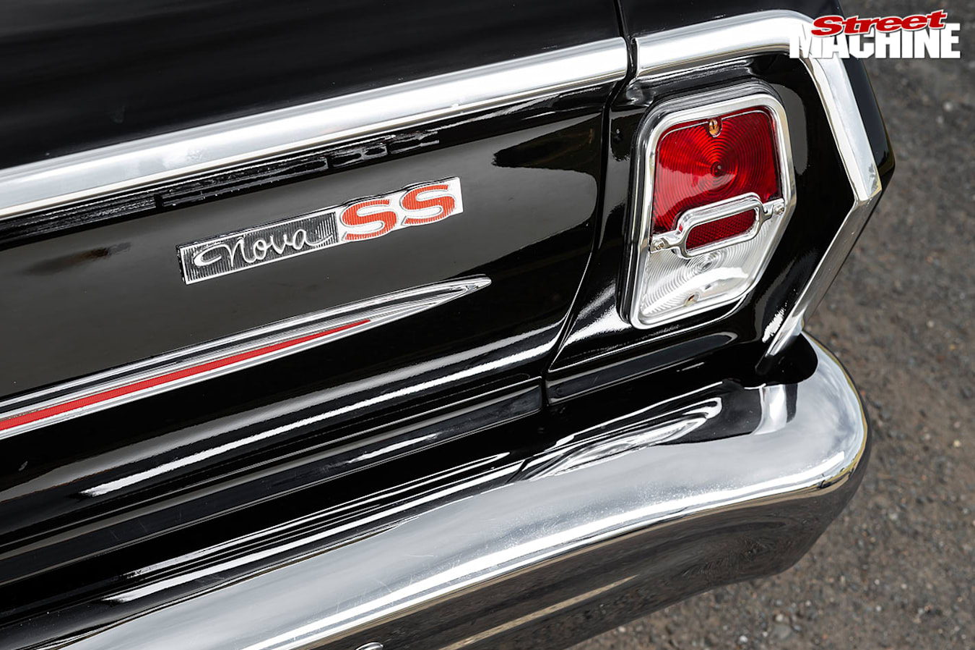 Chevrolet Nova SS tail light