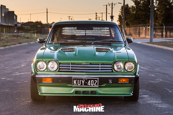 Ford Capri front