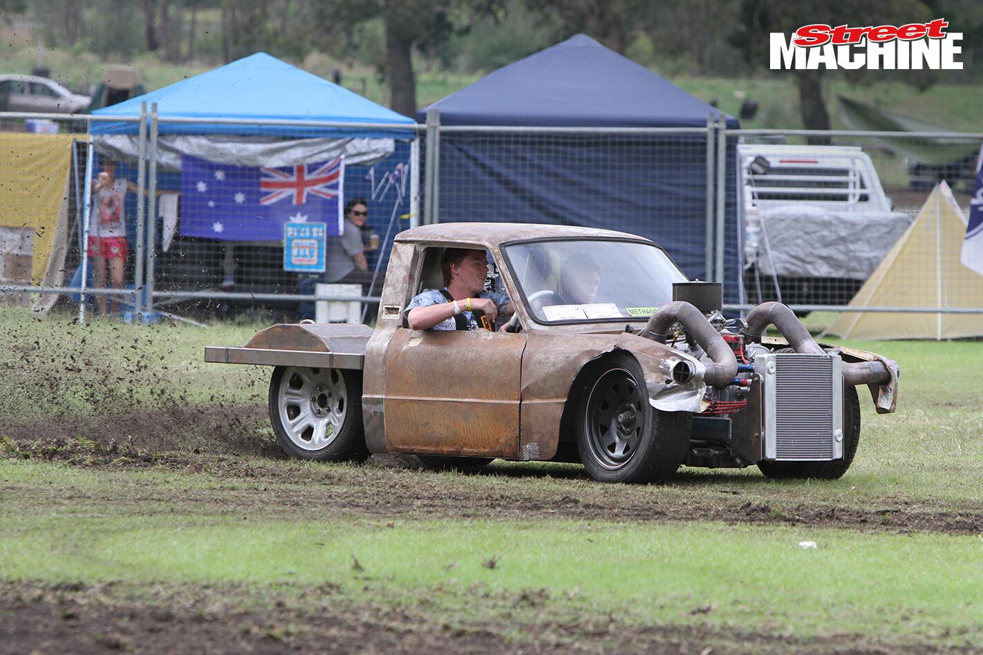 SUSLS1 Mazda Ute Burnout 10 Nw