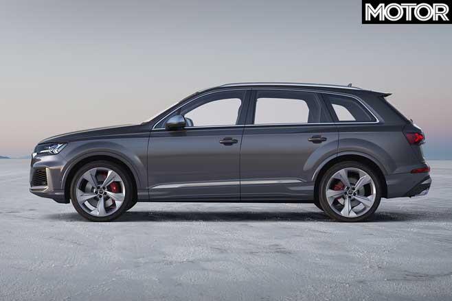 2020 Audi SQ7 TDI side profile