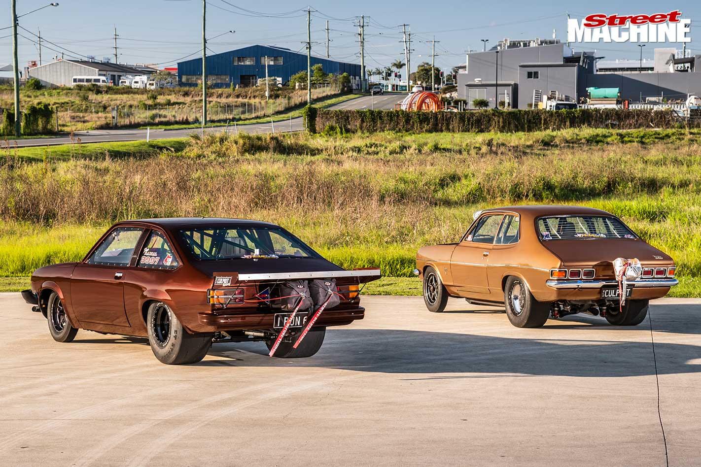Holden LJ & LX Torana rear