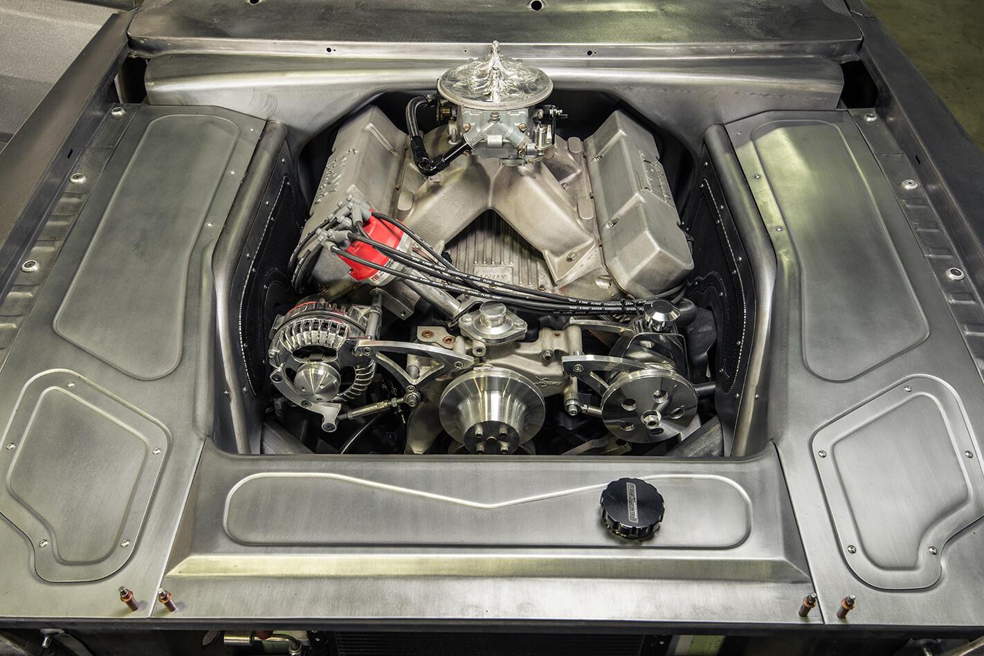 VG Valiant engine