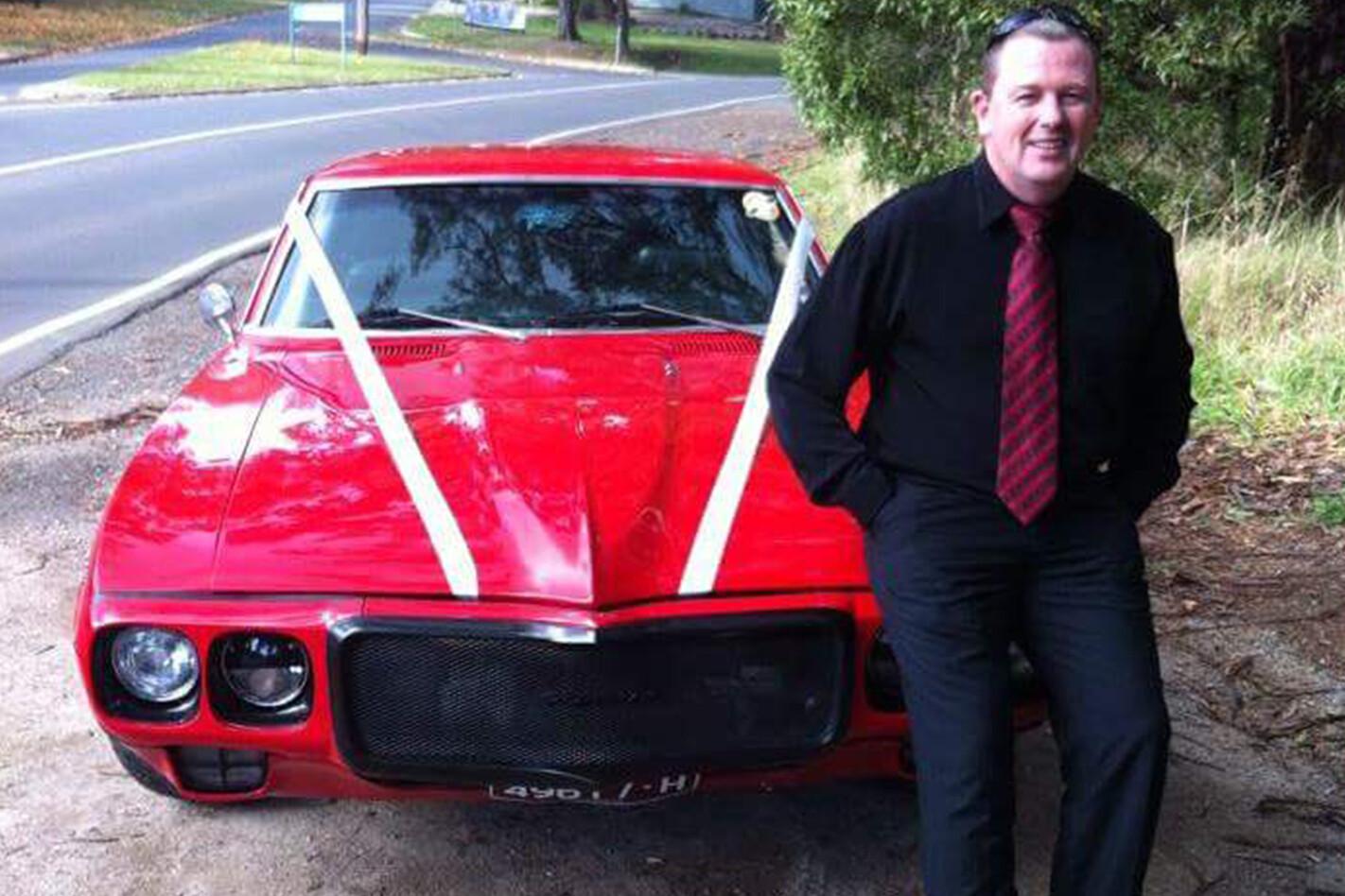 Loc Nawrik's Firebird wedding car