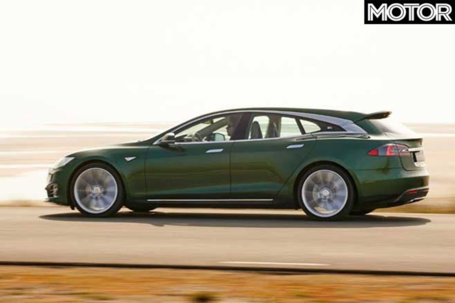 Tesla Model S Shooting Brake Performance Jpg
