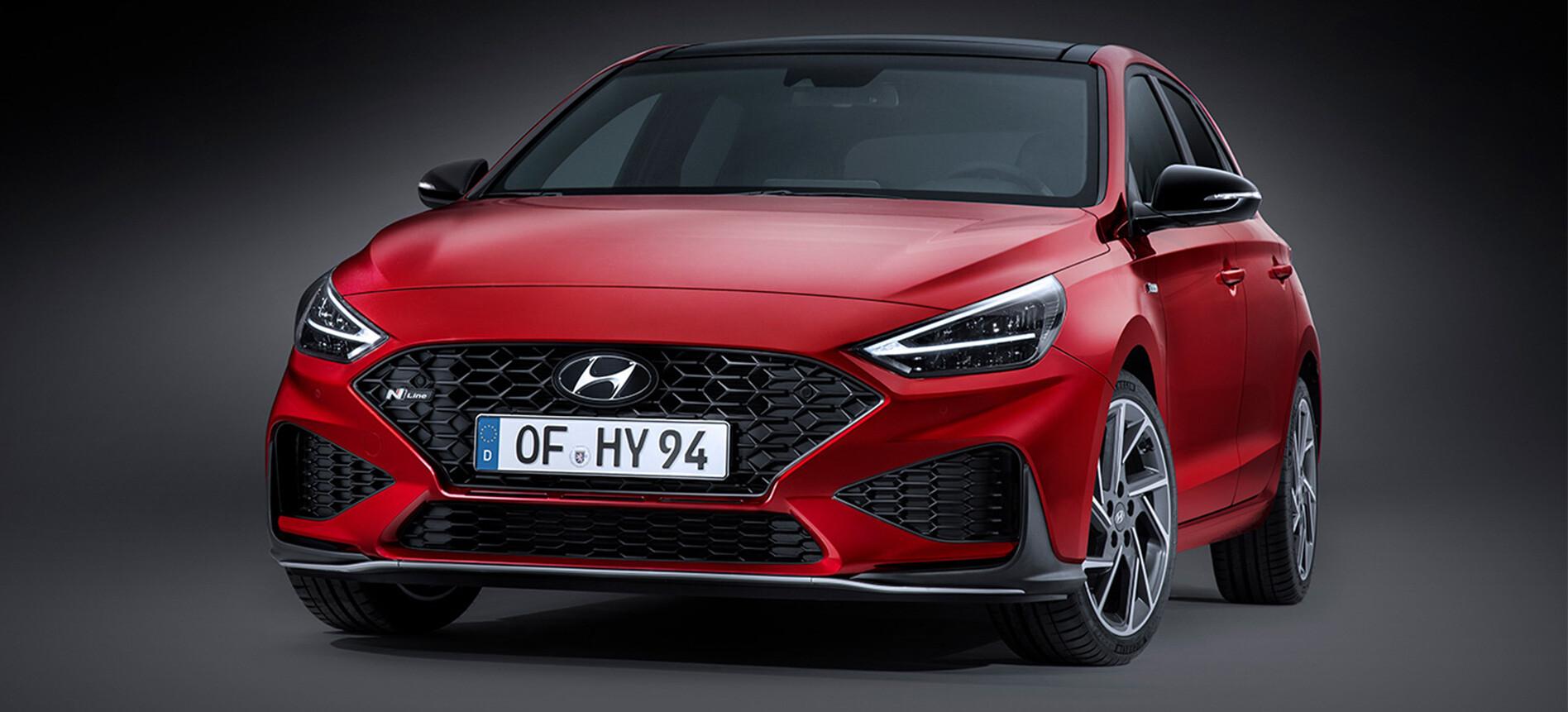 2021 Hyundai i30 facelift revealed