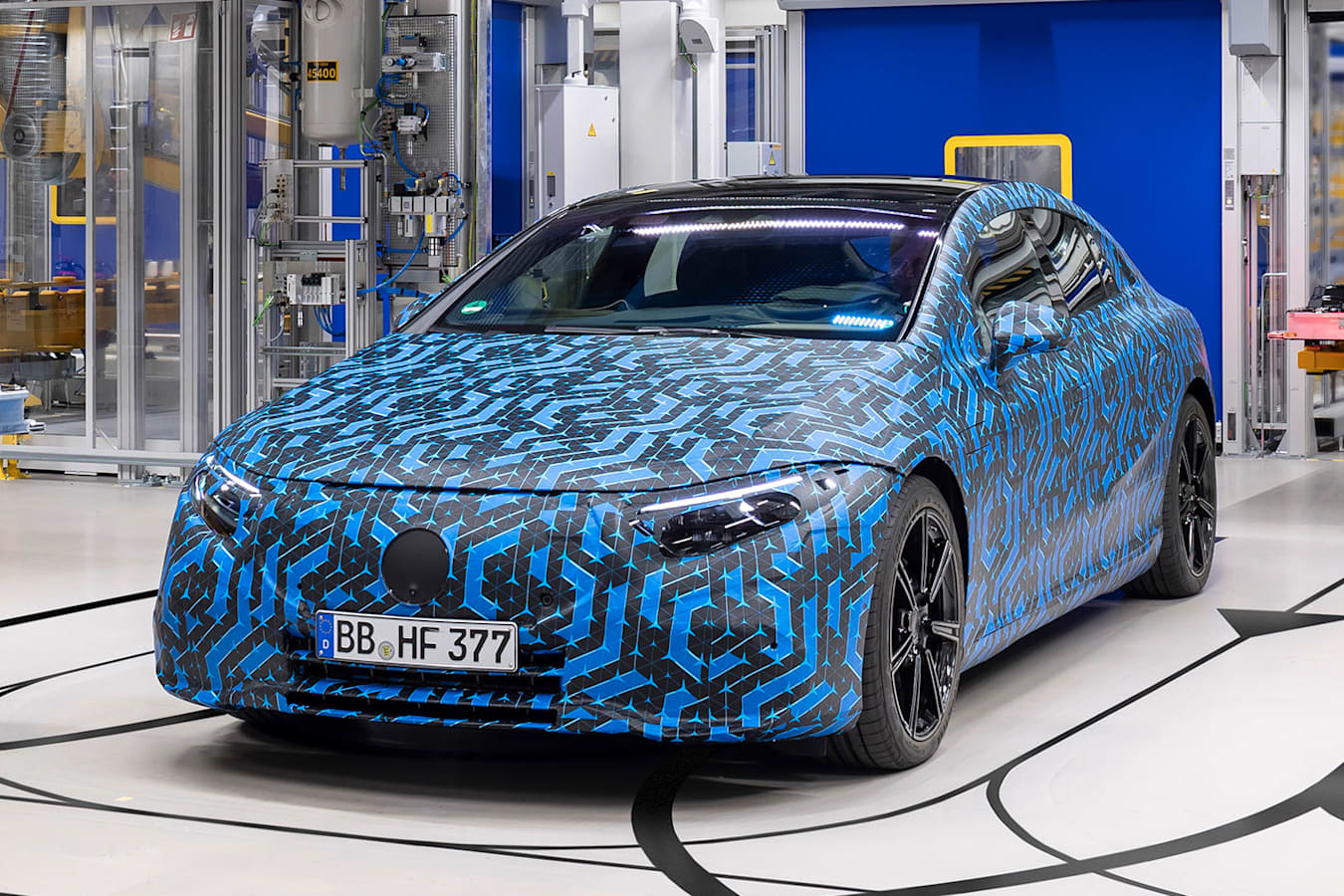 Mercedes EQ production