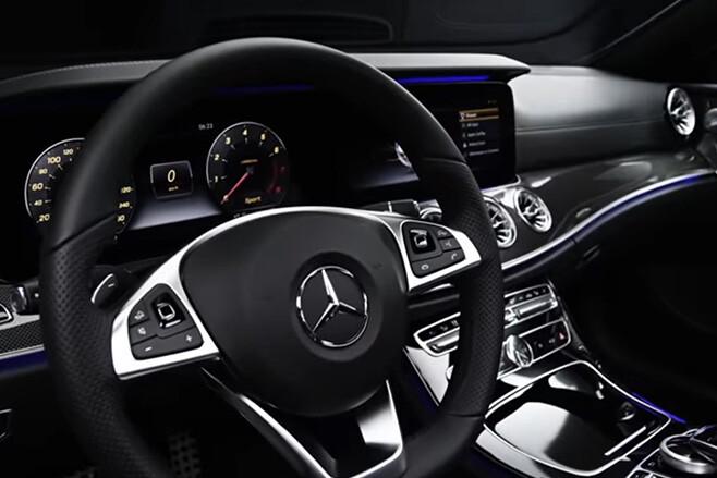2017 Mercedes-Benz E-Class Coupe teased