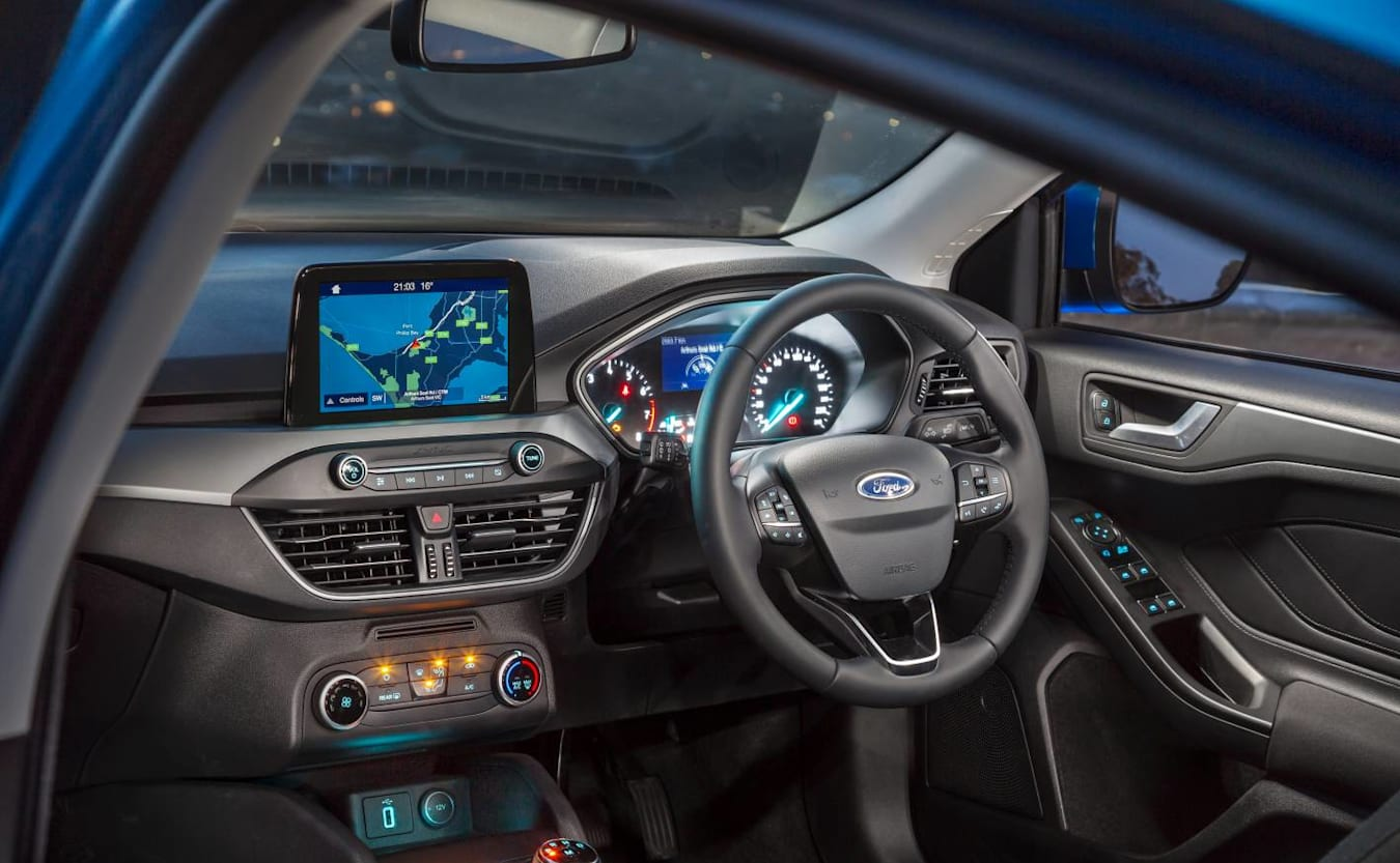 2019 Ford Focus Trend dashboard