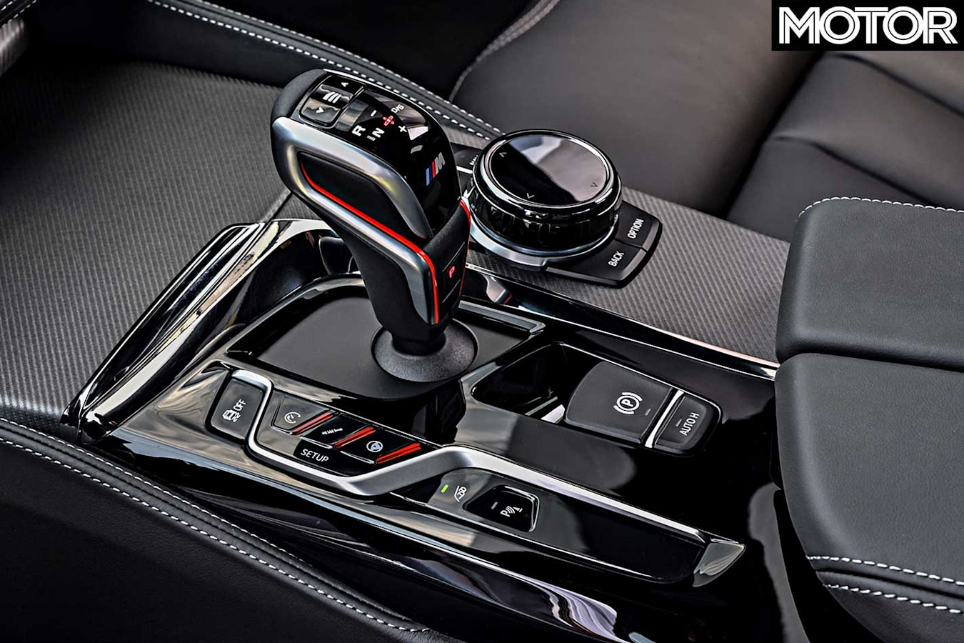 2018 BMW M 5 Competition Gearshifter Jpg