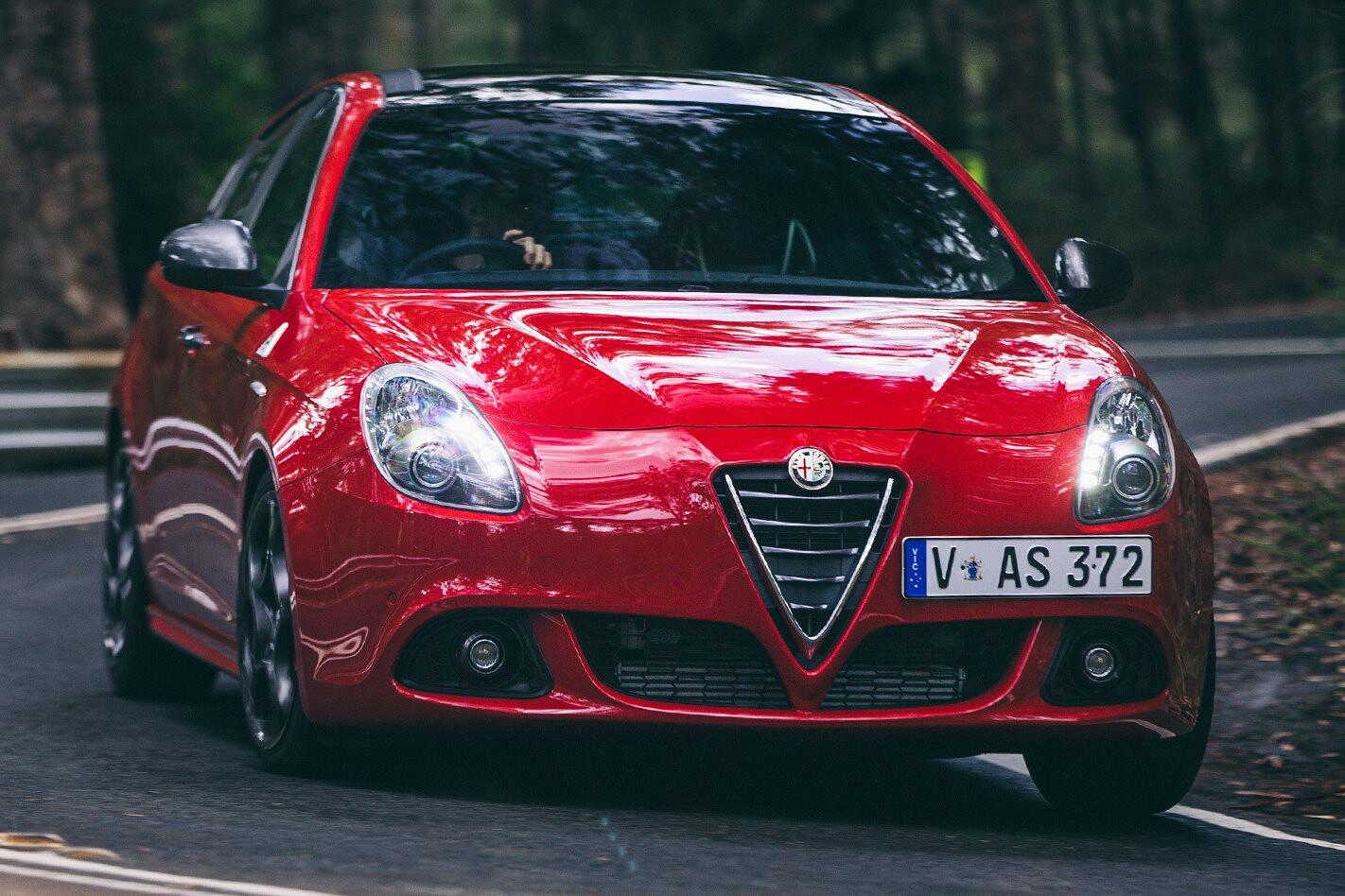 Alfa Romeo Guilietta Quadrifoglio Front Jpg