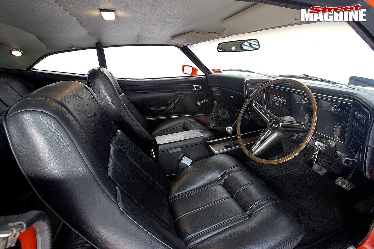 Ford Falcon interior