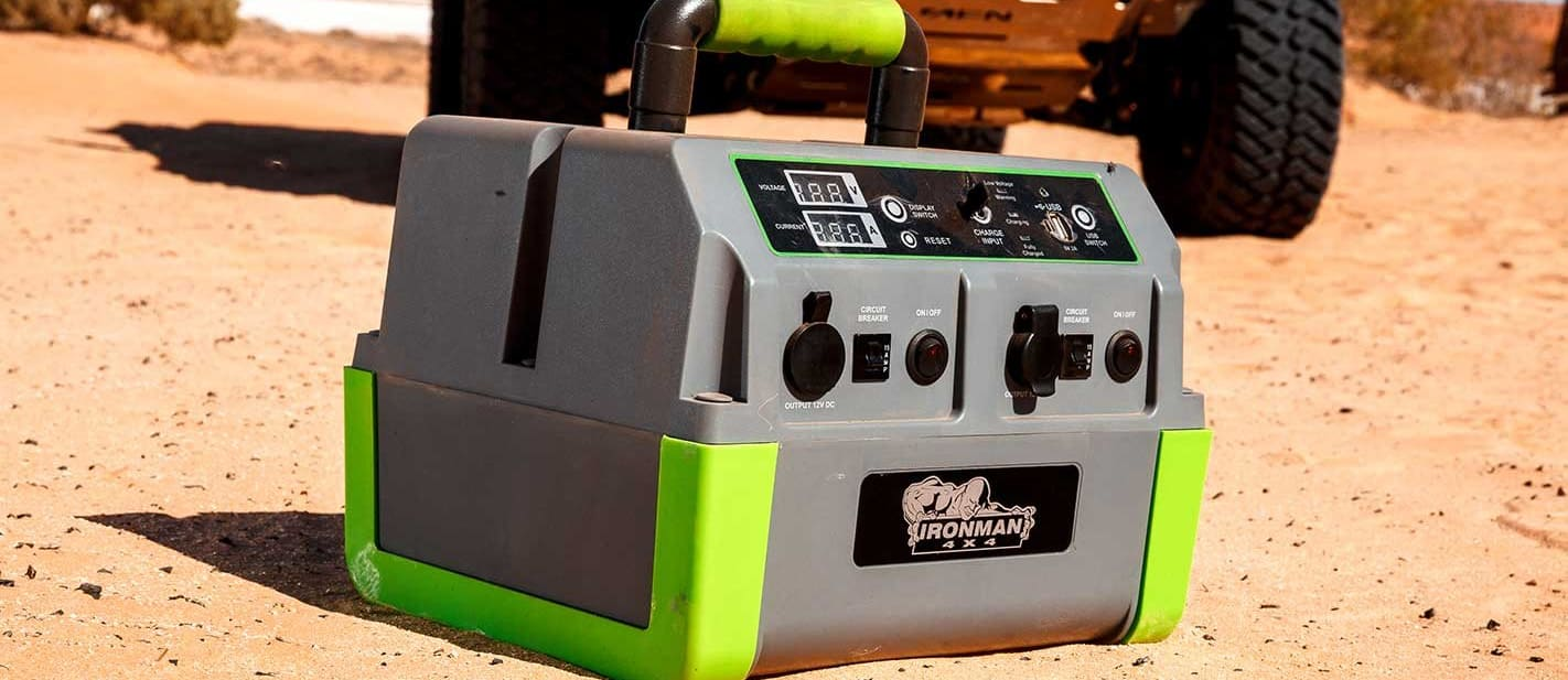 Ironman 4x4 portable power pack review