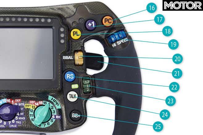 Formula One Steering Wheel Right Markers Jpg