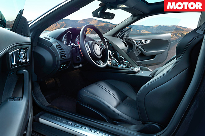 Jaguar F-Type V6 S AWD interior