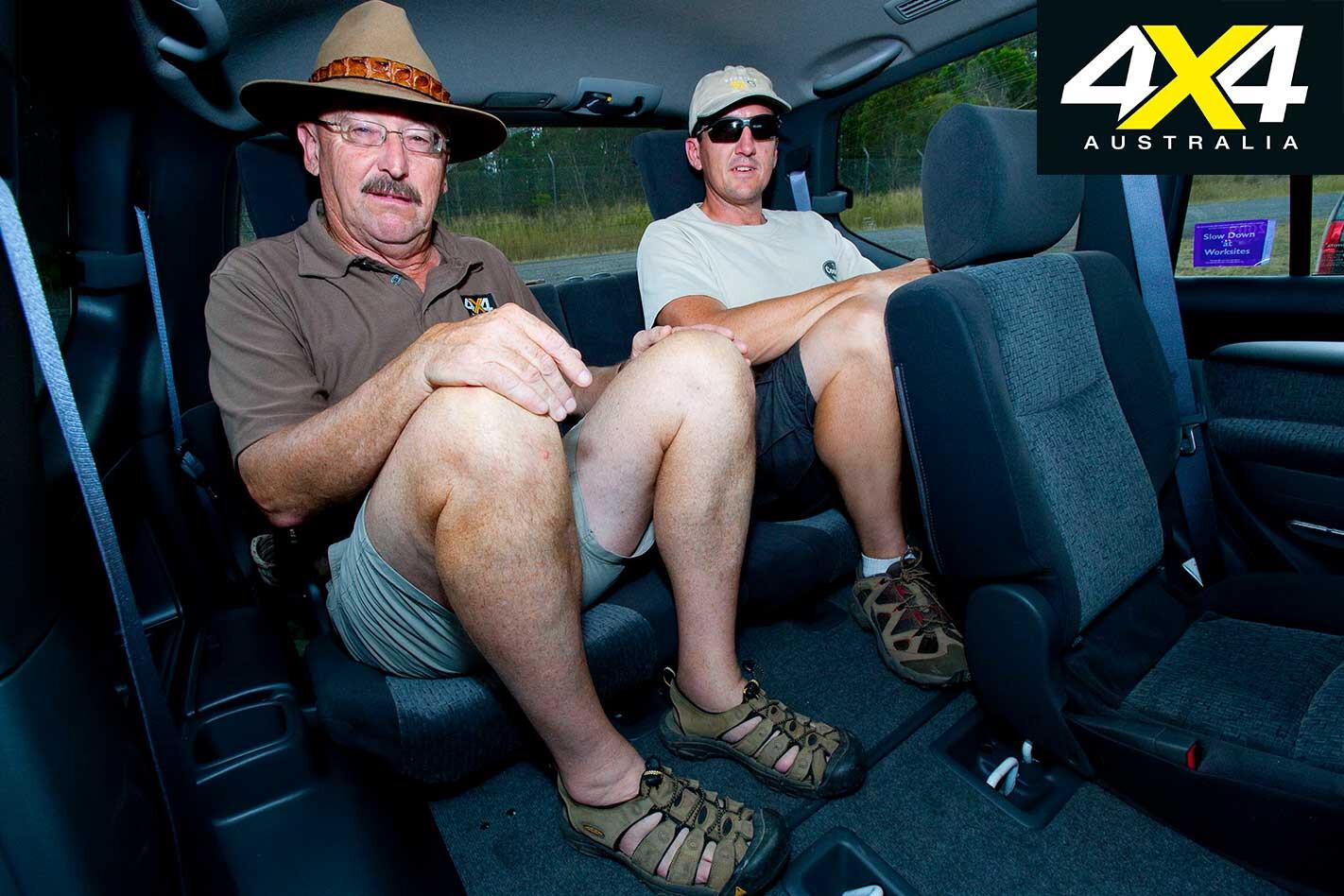 2009 Toyota Land Cruiser Prado Rear Seats Jpg
