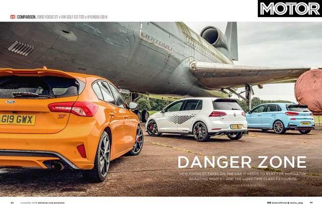 MOTOR Magazine November 2019 Issue Preview Hot Hatch Comparison Jpg