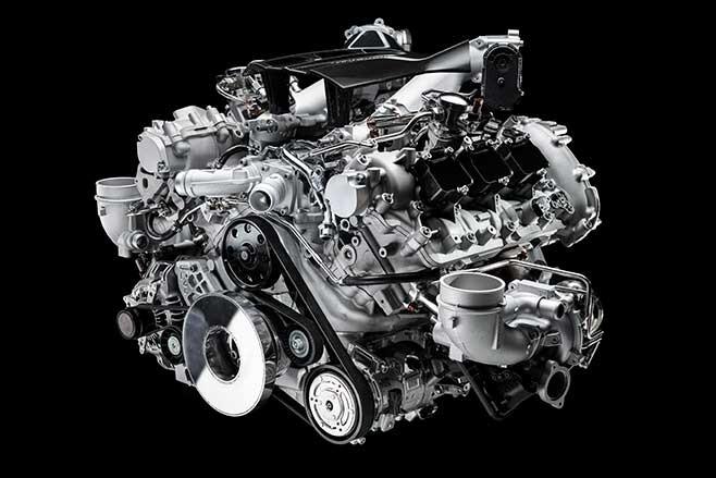 Nettuno 3.0-litre twin-turbo V6 producing 463kW.