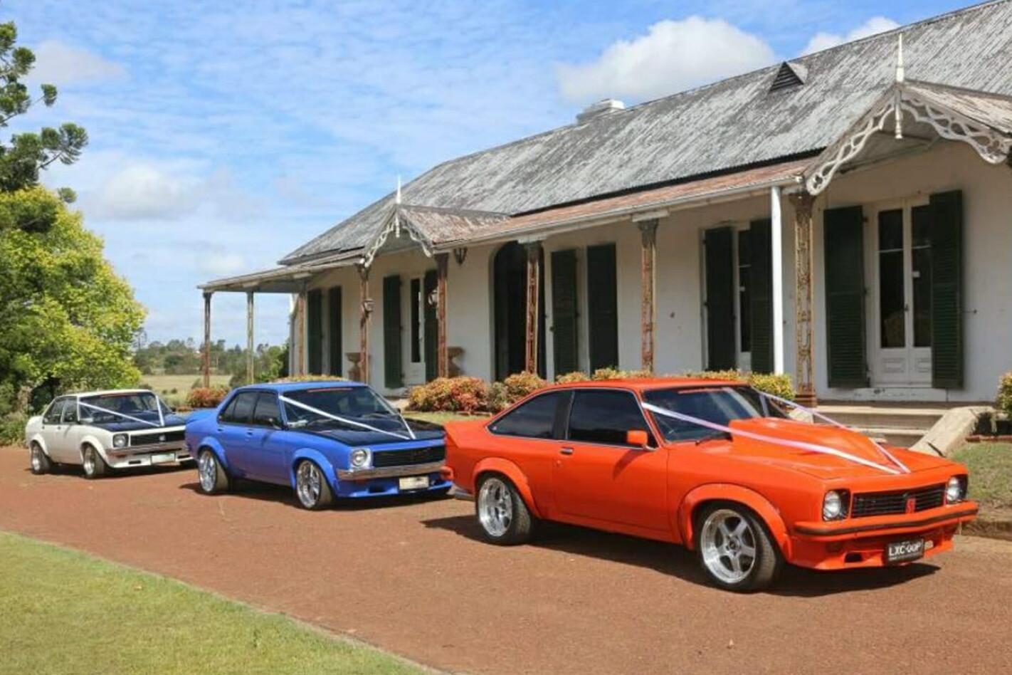 Kathleen Whittaker's wedding cars