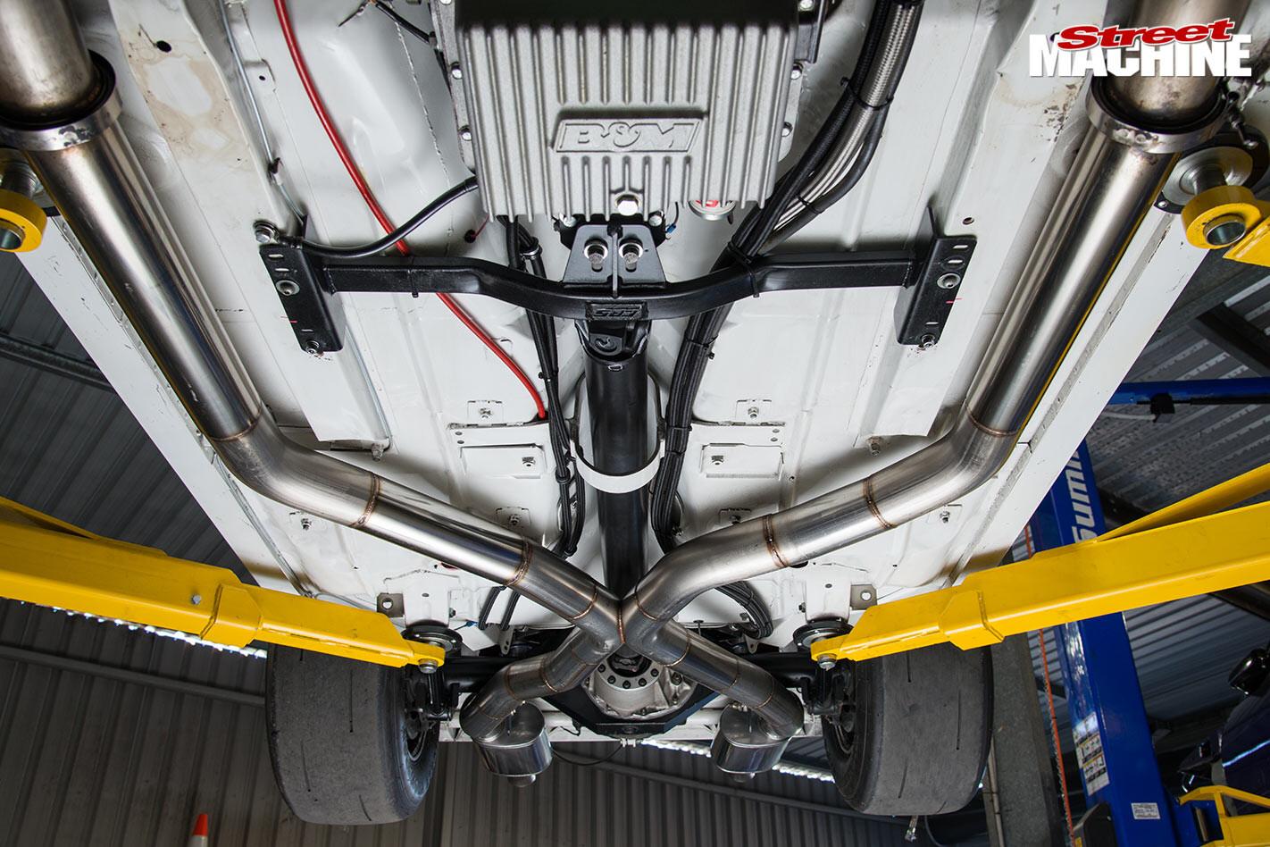 Holden LX Torana underside