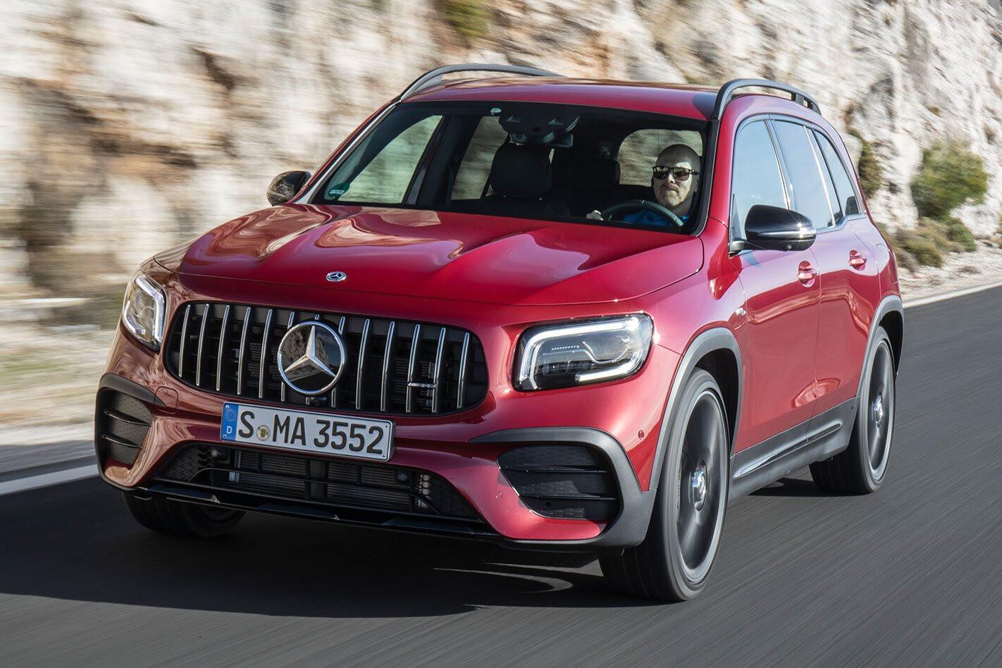 Mercedes-Benz GLB35 review
