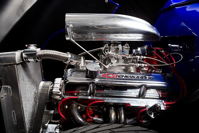 Holden FJ ute engine