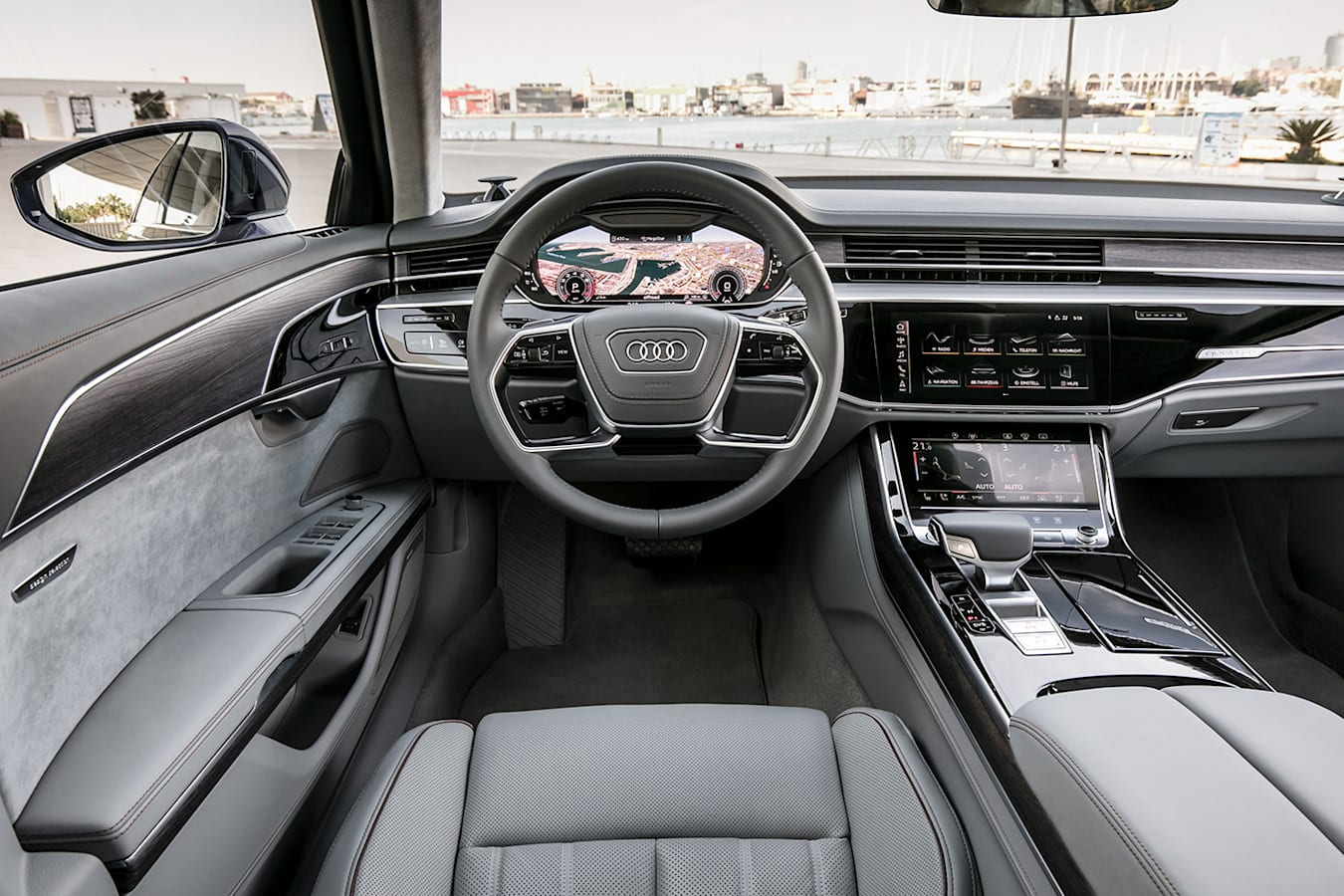 Audi A 8 Interior Jpg