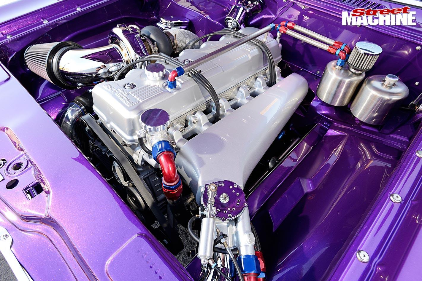 Ford Cortina engine bay
