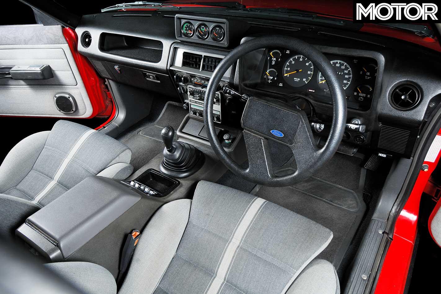 1982 Ford Falcon XE ESP Interior Jpg