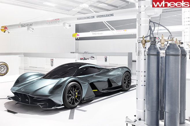 Aston Martin Red Bull AM-RB 001 Front
