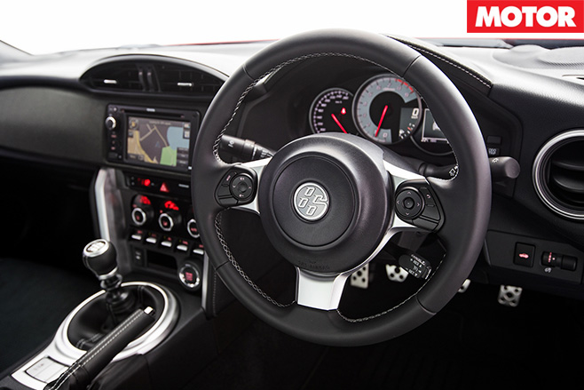 2017Toyota 86 GTS interior
