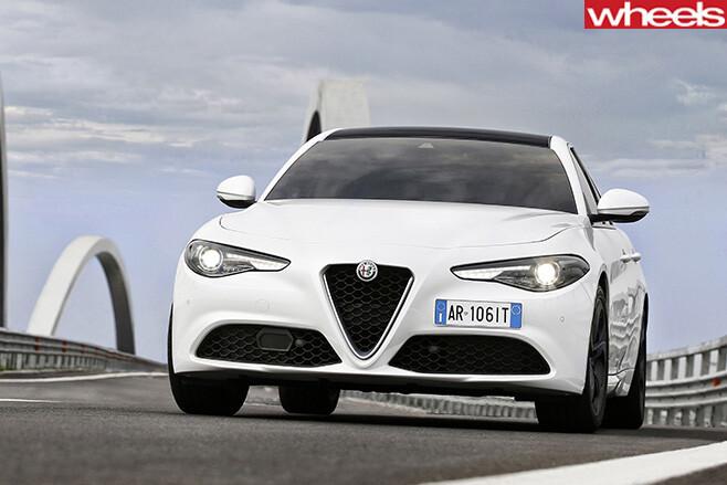 Alfa -Romeo -Giulia -front -on
