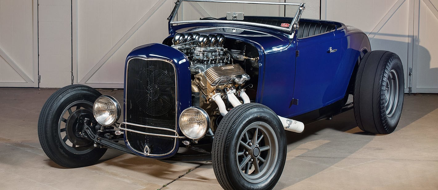 ford model a roadster front nw