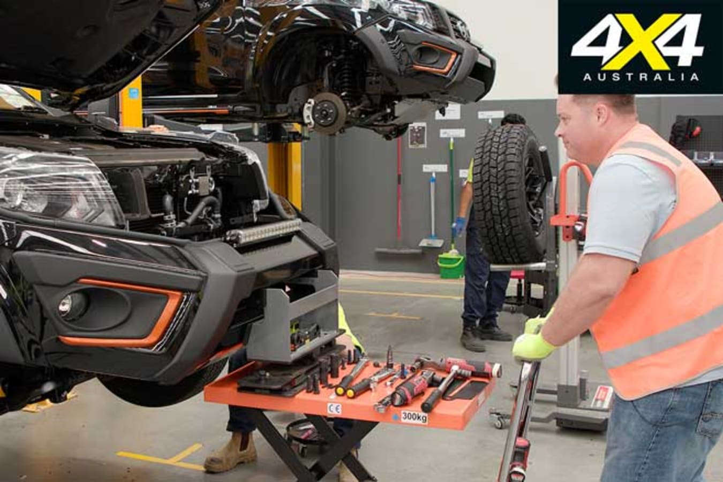 Premcar Nissan Navara N TREK Warrior Toby Hagon Bumper Fitment Jpg