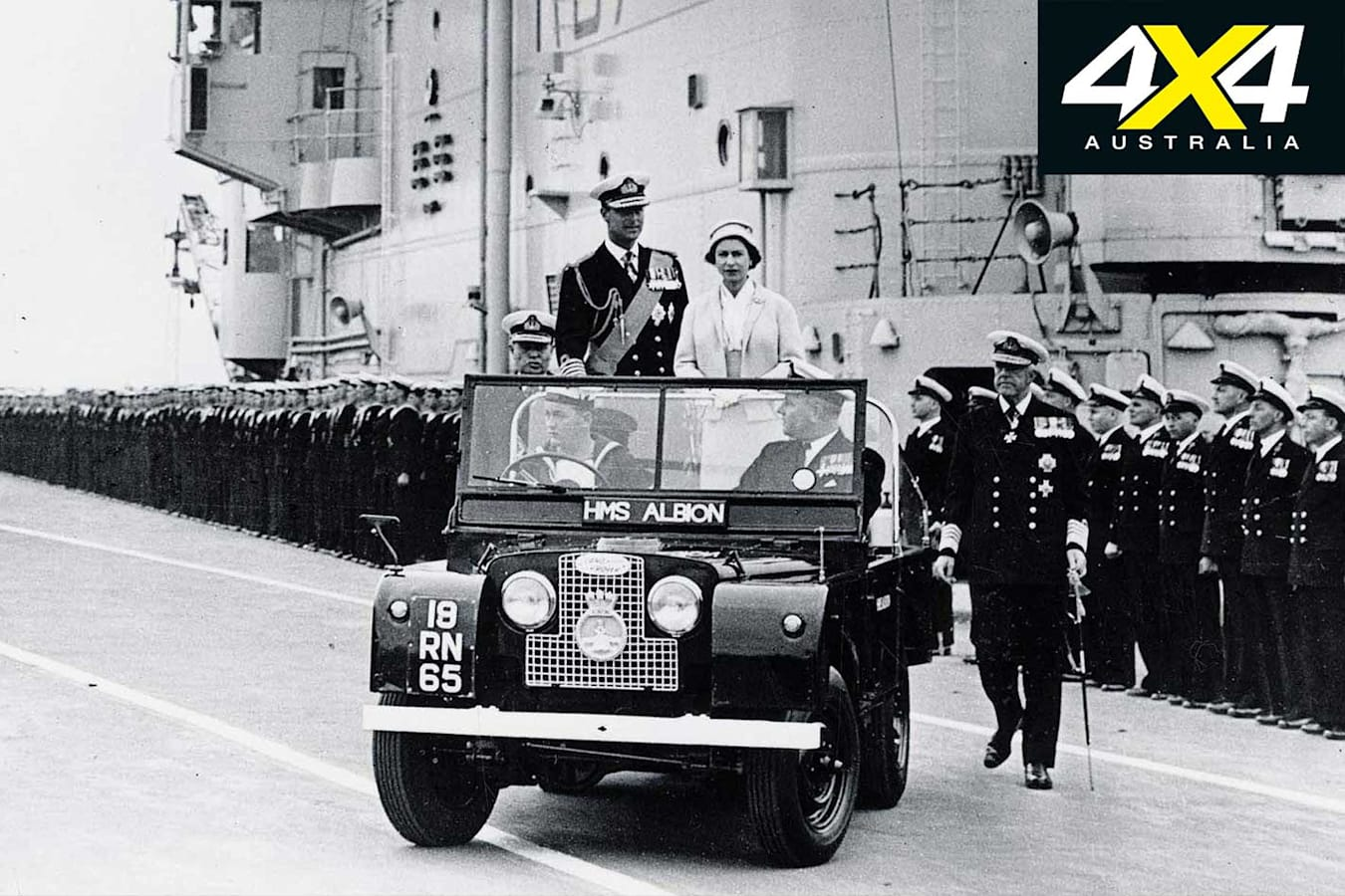 70 Years Of Land Rover Royals Jpg