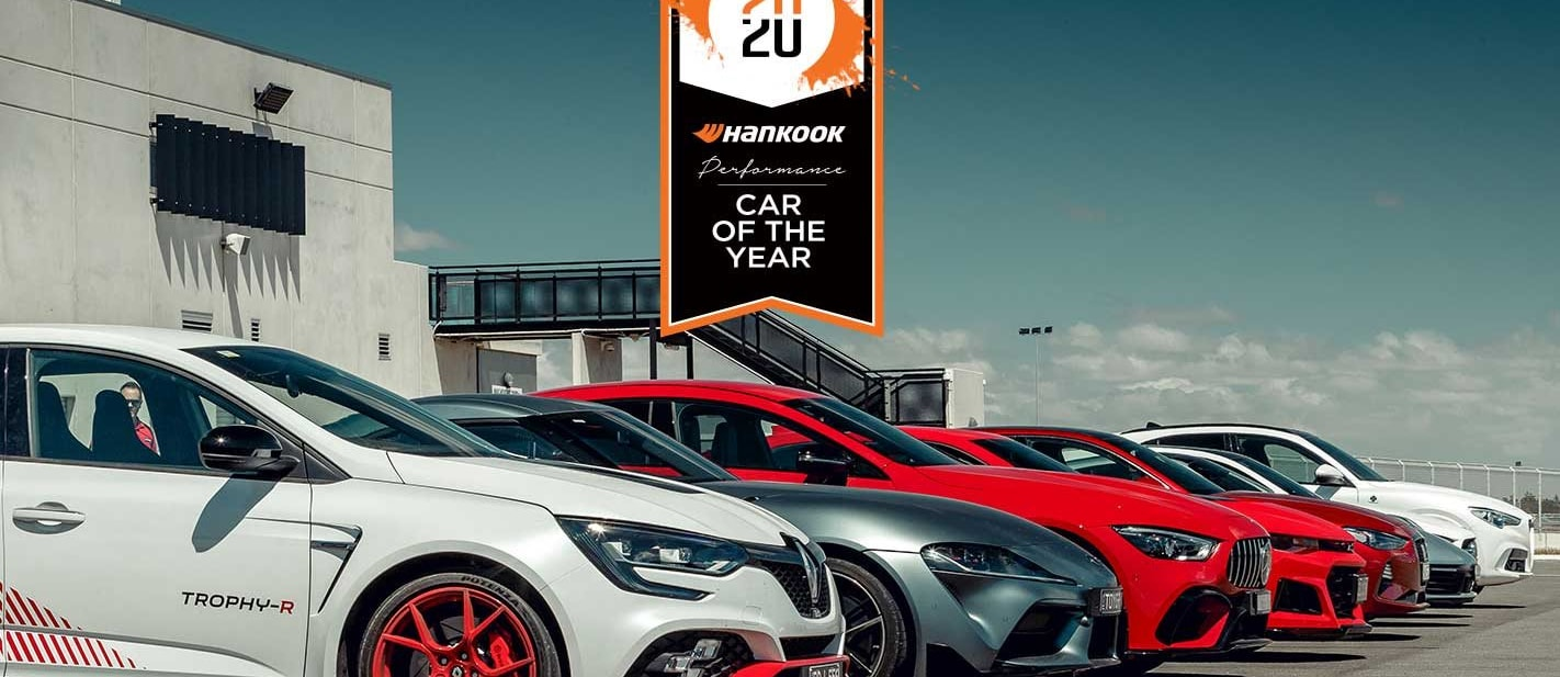 Performance Car of the Year 2020 Drag Performance Test