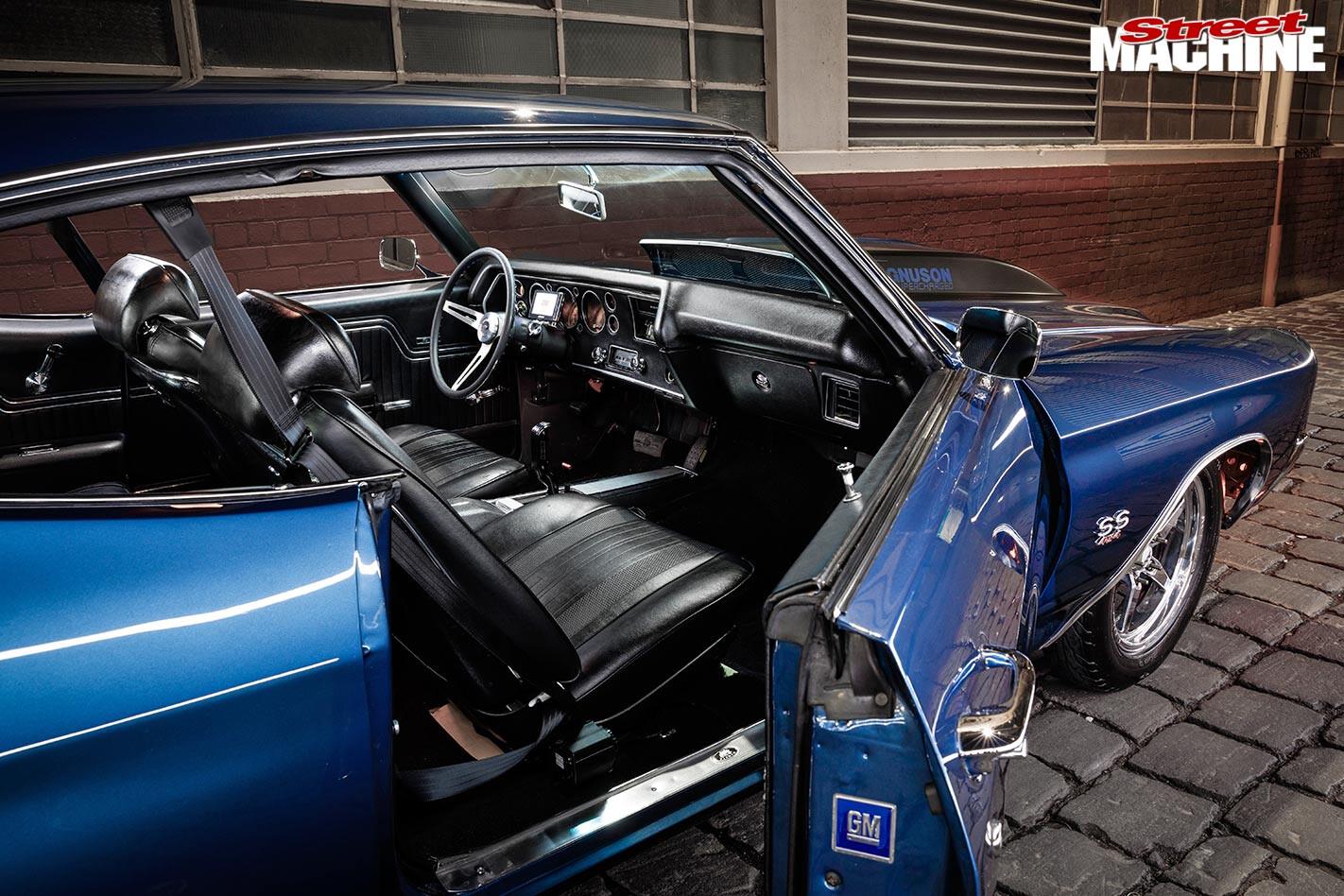 Chevelle SS interior